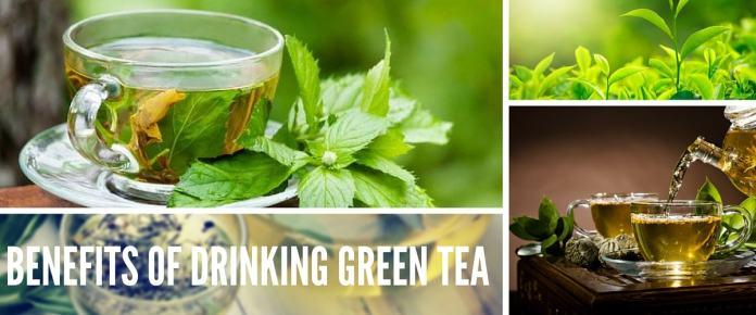 healthy benefits of drinking green tea
