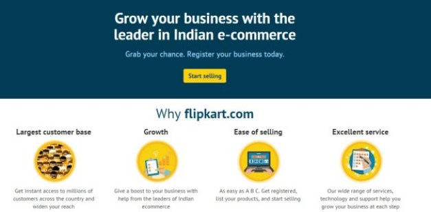 why to sell on flipkart