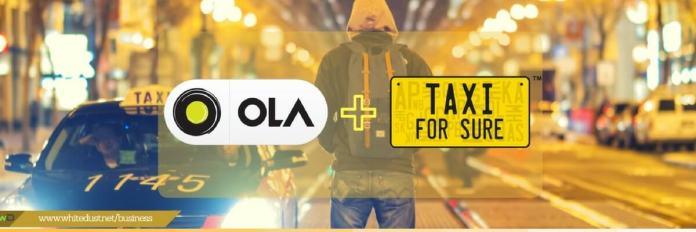 Attach cars with ola company