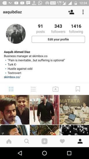 instagram bios