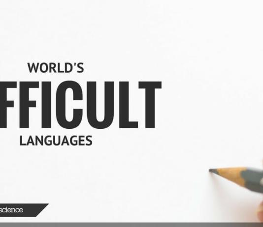MOST DIFFICULT LANGUAGE