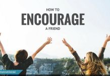 how to encourage a friend