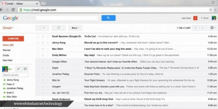 how email works