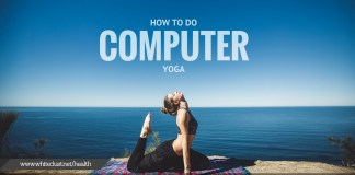 HOW TO DO COMPUTER YOGA