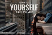 HOW TO MAKE YOURSELF THROW UP OR VOMIT