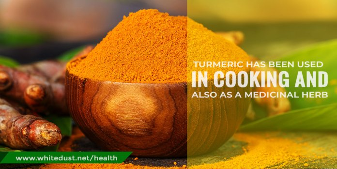 Turmeric has been used in cooking and also as a medicinal herb