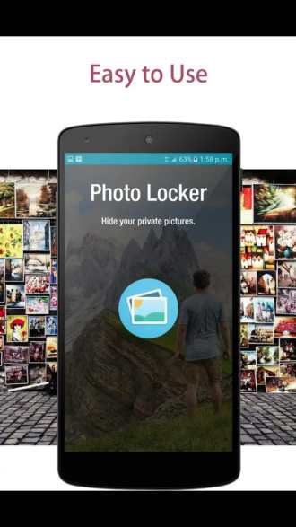 Photo Locker app