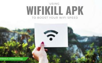 USING WIFIKILL APK TO BOOST YOUR WIFI SPEED