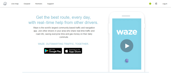 Making the Delivery with waze