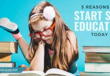 5 REASONS TO START SELF-EDUCATION TODAY