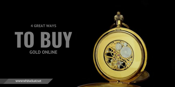 4 Great Ways To Buy Gold Online