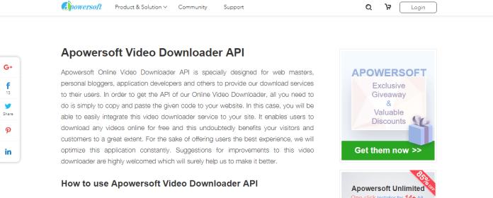 APowerSoft Video Downloader