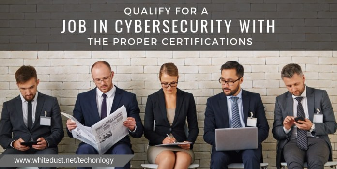 Qualify for a job in cybersecurity with the proper certifications even with a different undergraduate degree