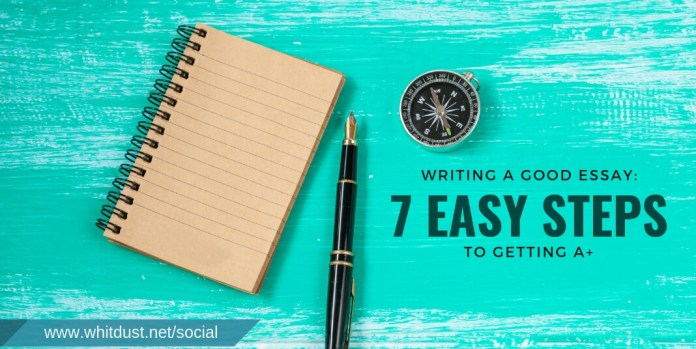 WRITING A GOOD ESSAY : 7 EASY STEPS TO GETTING A+ FOR ACADEMIC WRITING