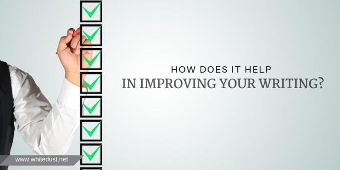 how does it help in improving your writing?