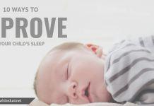 10 Ways to Improve Your Child's Sleep