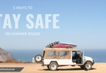 5 Ways to Stay Safe on Summer Roads