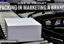 ROLE OF PRODUCT PACKAGING IN MARKETING A BRAND