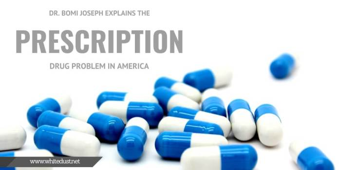 Dr. Bomi Joseph Explains the Prescription Drug Problem in America