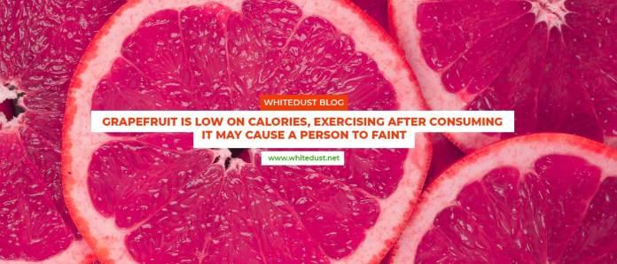 Grapefruit juice diet