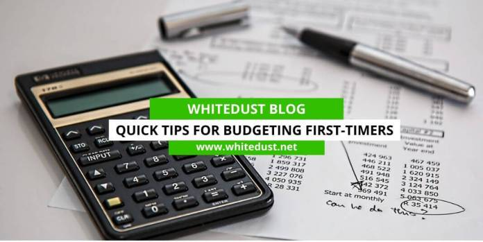 Quick Tips for Budgeting First-Timers