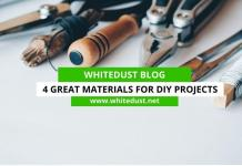 4 Great Materials for DIY Projects