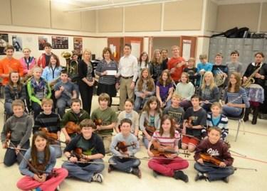 2013 Anonymous Donation Music Programs