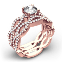 Simon G. MR1596 Fabled Diamond Wedding Set - Whiteflash | 4215