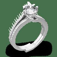Simon G. MR1939 Fabled Diamond Wedding Set - Whiteflash | 4220