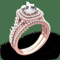 Simon G. MR2459 Passion Diamond Wedding Set | 3457