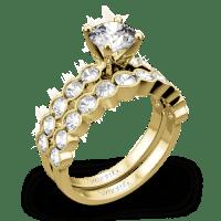 Simon G. MR2566 Caviar Diamond Wedding Set - Whiteflash | 4226
