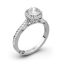 Tacori 2620RDP Dantela Crown Diamond Engagement Ring | 3023