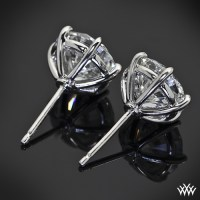 6 Prong Martini Earrings