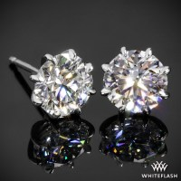 8 Prong Martini Diamond Earrings--Ready Set To Go | 1548