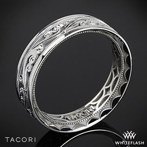 Tacori Sculpted Crescent Eternity Wedding Ring 2467