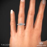 Tacori 46 2 RD Sculpted Crescent Almond Crescent Diamond ...
