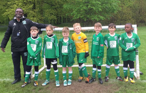 Wasps U8 team