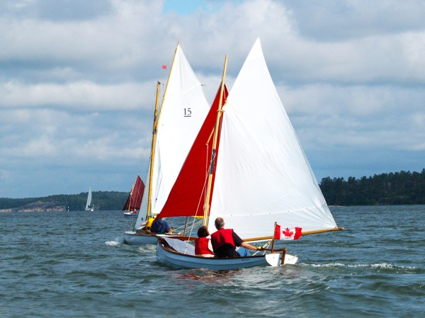 Classic Whitehall Spirit 17 Expedition Sailing & Sculling