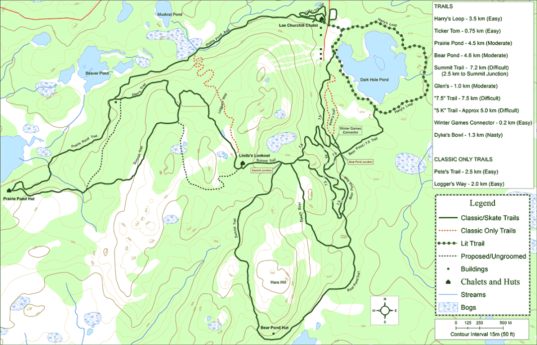 Clarenville Cross Country Trail Map