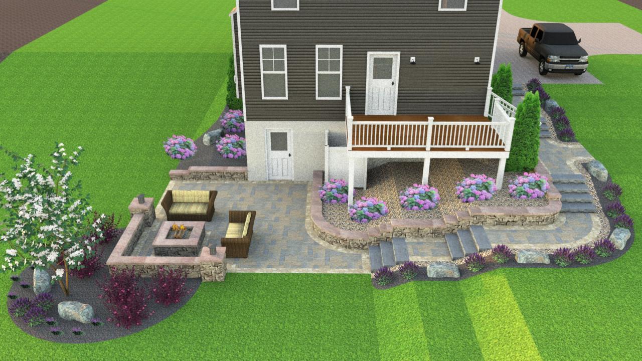 3d landscape design so many benefits