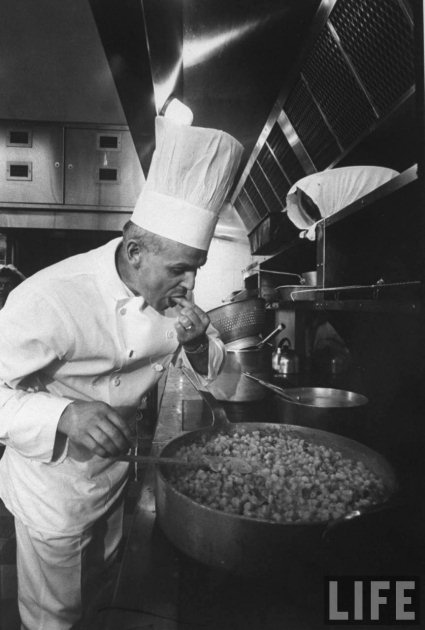 kitchen chief aid mixer covers white house museum chef in 1967 life