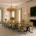The state dining room circa 2004 looking southwest white house