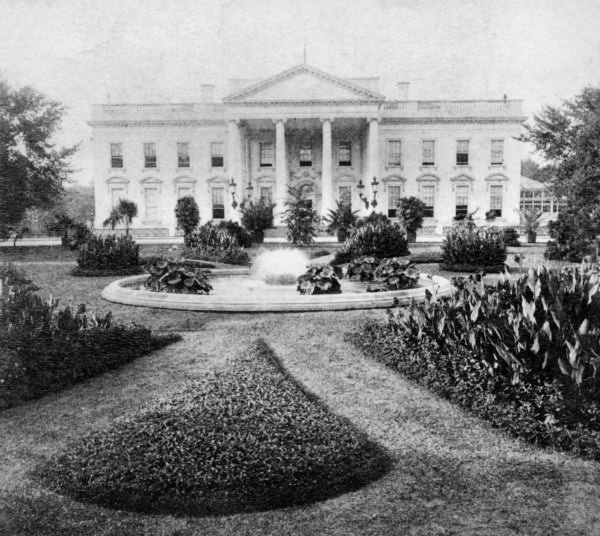 Image result for White House 1901