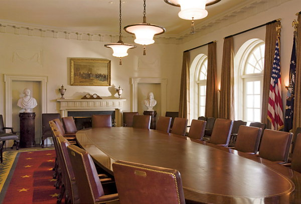 Cabinet Room  White House Museum