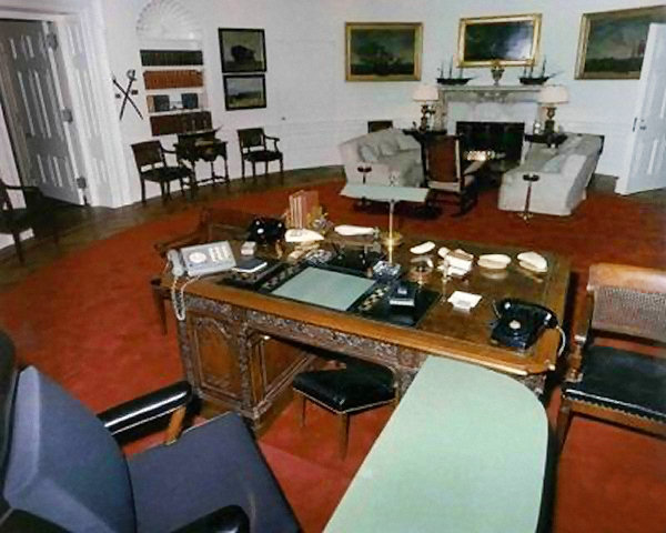 oval office chair rural king folding chairs history white house museum the new kennedy