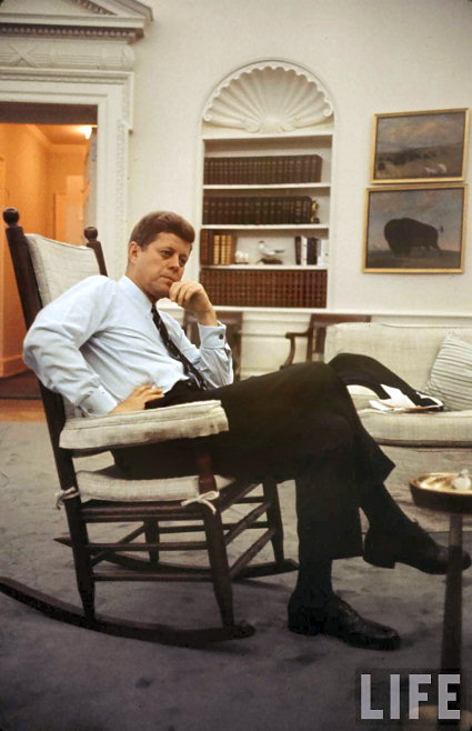 oval office chair chairs for outside history white house museum john kennedy in a rocking