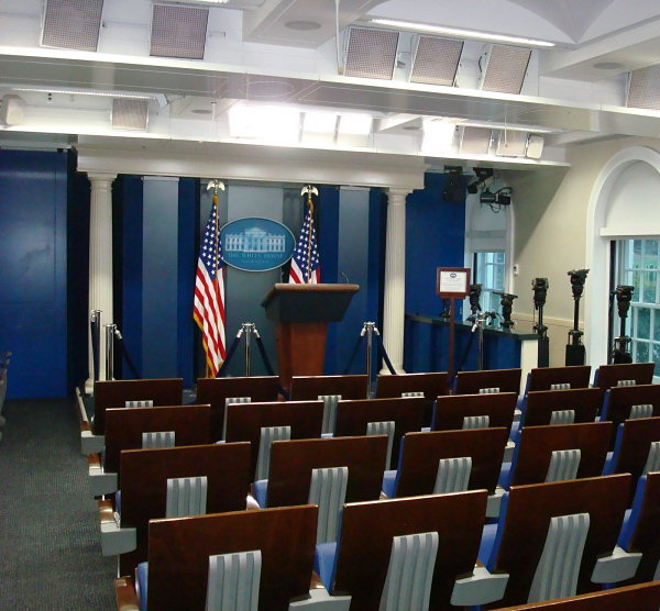Press Briefing Room  White House Museum