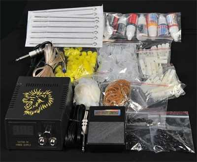 Tattoo kit accessories