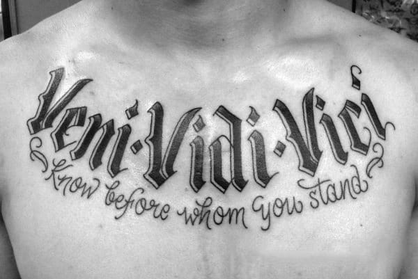 Veni vidi vici meaning - I came, I saw, I conquered!