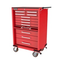 710743 - WHI496B - 11 DRAWER ROLL CABINET with lockable ...